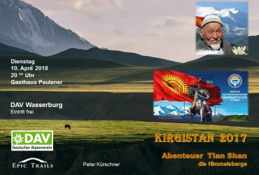Einladung 3 DAV Kirgistan 2017