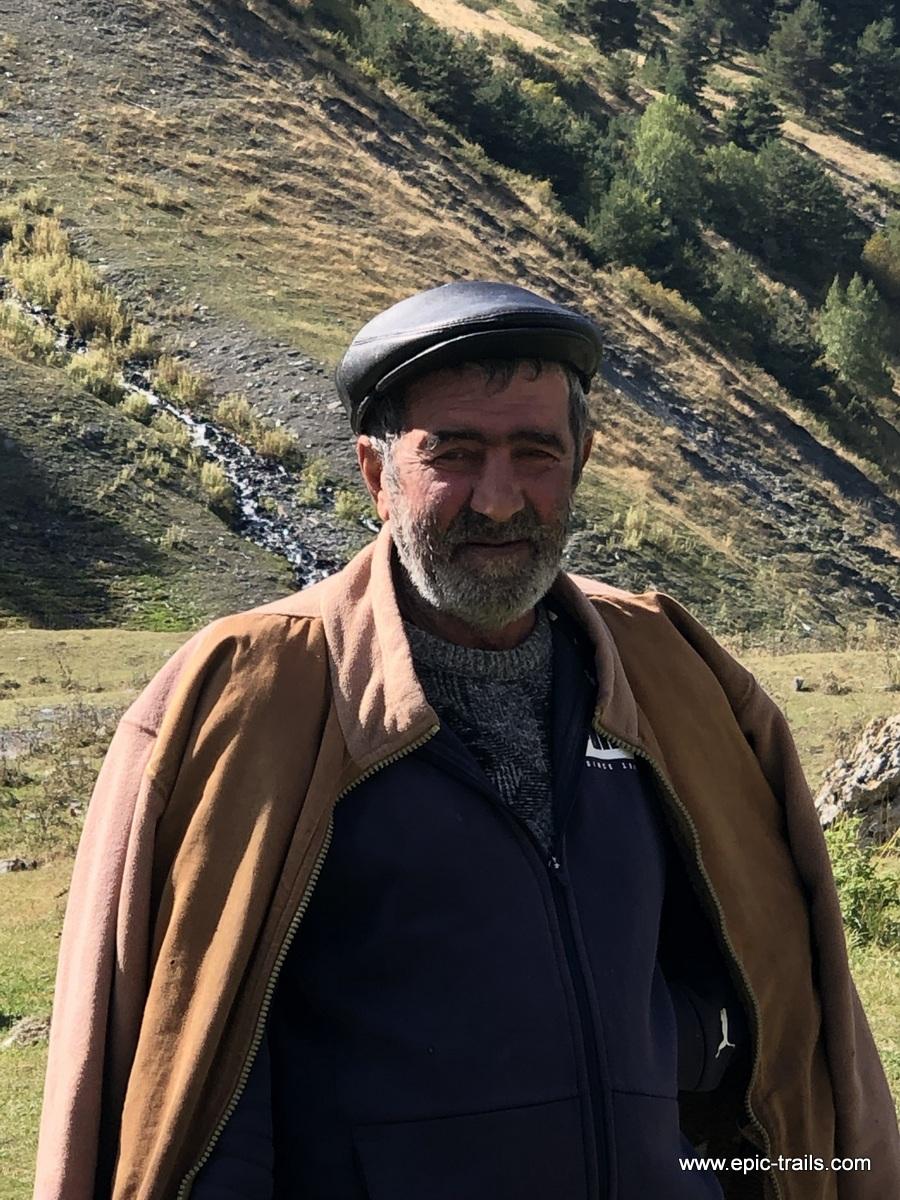 Armenien Bergbauer