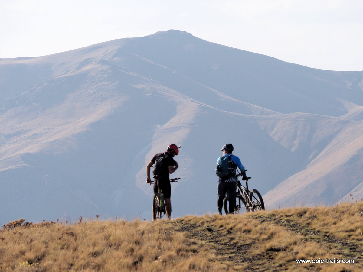 Mountainbike Armenien